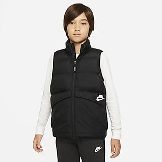 Nike Sportswear Chaleco con relleno sintético para niños talla grande