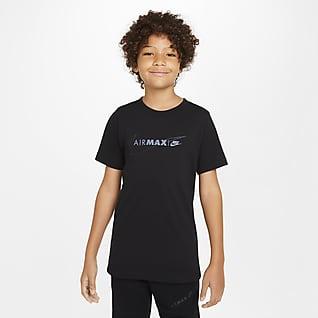 Nike Air Max Футболка для мальчиков школьного возраста