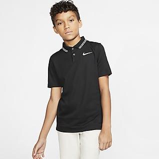 Nike Dri-FIT Victory Erkek Çocuk Golf Polo Üst
