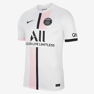 Выездная форма ФК «Пари Сен-Жермен» 2021/22 Stadium Мужское футбольное джерси Nike Dri-FIT