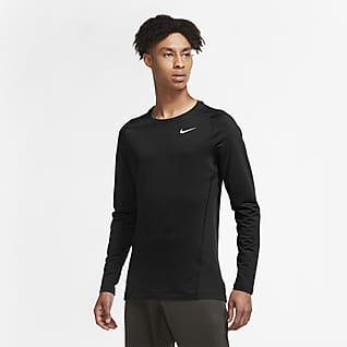 Nike Pro Warm Мужская футболка с длинным рукавом