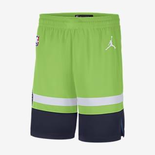 Timberwolves Statement Edition 2020 Jordan NBA Swingman Shorts für Herren