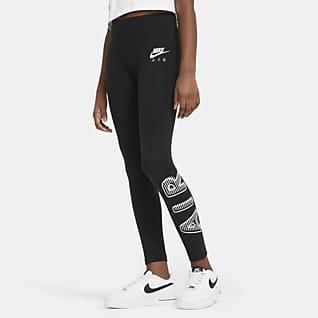 Nike Air Legíny pro větší děti (dívky)