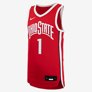 Nike College (Ohio State) Big Kids' Basketball Jersey
