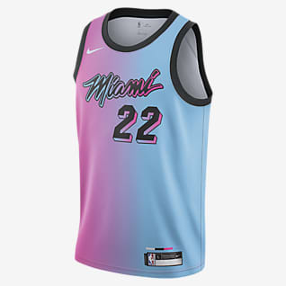 Jimmy Butler Heat City Edition Maillot Nike NBA Swingman pour Enfant plus âgé