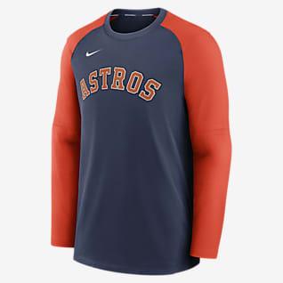 Nike Dri-FIT Pregame (MLB Houston Astros) Men's Long-Sleeve Top