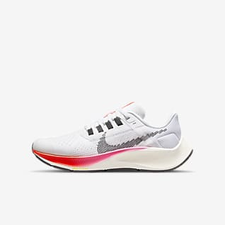 Nike Air Zoom Pegasus 38 รองเท้าวิ่งโร้ดรันนิ่งเด็กโต