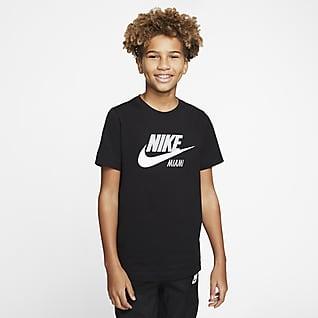 NIke Sportswear Miami Playera para niños talla grande