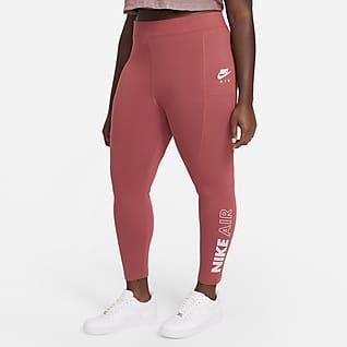 Nike Air Leggings de cintura alta para mujer (talla grande)