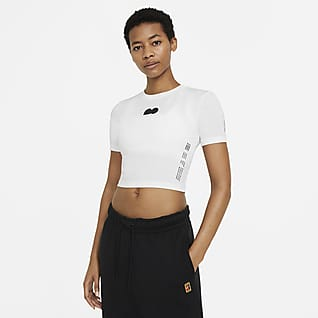 Naomi Osaka Women's Cropped Tennis T-Shirt