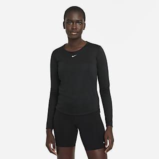 Nike Dri-FIT One Женская футболка с длинным рукавом и стандартной посадкой