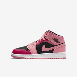 Air Jordan 1 Mid Schuhe für ältere Kinder