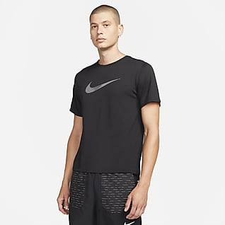 Nike Dri-FIT Run Division Miler Men's Short-Sleeve Hybrid Running Top