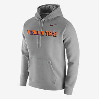 Nike College Club Fleece (Virginia Tech) Men's Hoodie