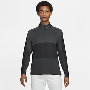Nike Dri-FIT Vapor Félhosszú cipzáras férfi golffelső