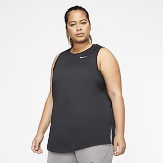 Nike Dri-FIT Women's Swoosh Training Tank (Plus Size)