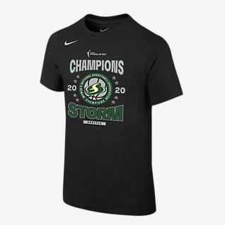 Seattle Storm Champions Big Kids' Nike WNBA T-Shirt
