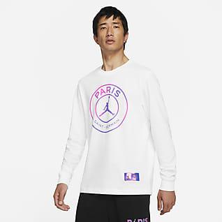 パリ サンジェルマン メンズ ロングスリーブ Tシャツ