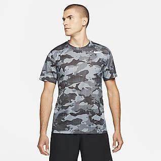 Nike Dri-FIT Pánské maskáčové tréninkové tričko