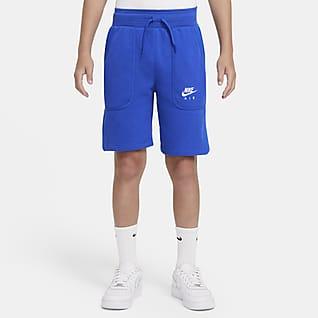 Nike Air Shorts de French Terry para niño talla grande