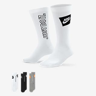 Nike Sportswear Everyday Essential Calze di media lunghezza (3 paia)