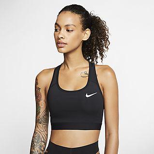 Nike Dri-FIT Swoosh Sostenidors esportius de subjecció mitjana sense enconxat - Dona