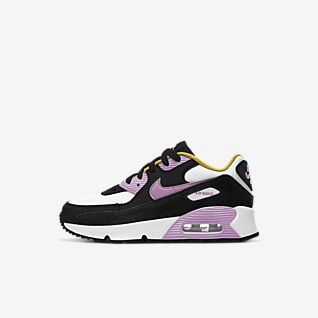 Girls Synthetic Air Max 90 Shoes. Nike AE