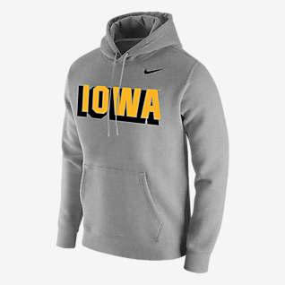 Nike College Club Fleece (Iowa) Men's Hoodie