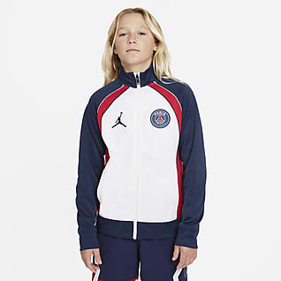 Paris Saint-Germain Big Kids' (Boys') Full-Zip Jacket