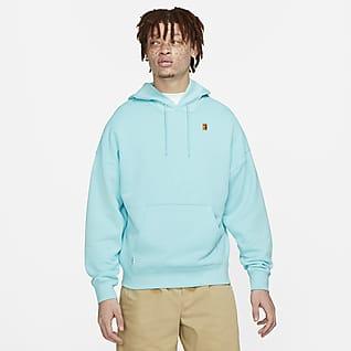 NikeCourt Sudadera con capucha de tenis de tejido Fleece para hombre