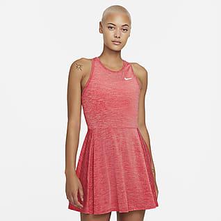 NikeCourt Dri-FIT Advantage Tennisklänning för kvinnor