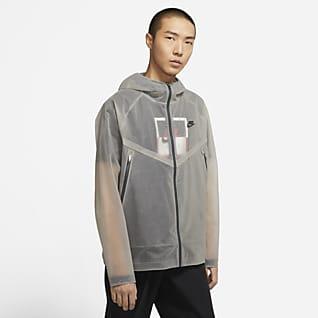 Nike Sportswear Windrunner เสื้อแจ็คเก็ตมีฮู้ดผู้ชาย