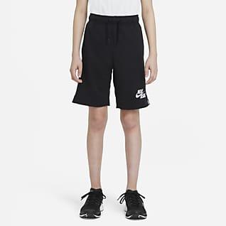 Nike Dri-FIT Flux Shorts de béisbol para niño talla grande