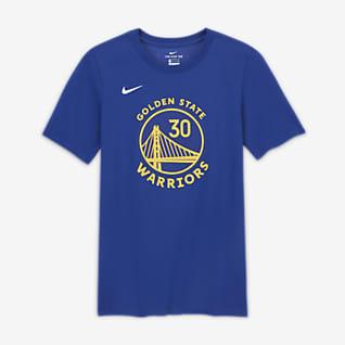 Stephen Curry Warriors T-shirt de jogador da NBA da Nike