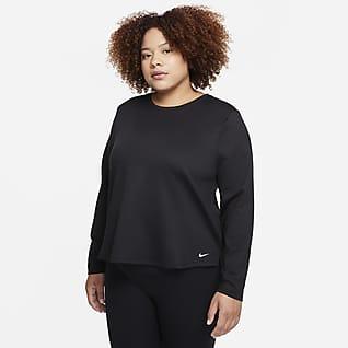 Nike Therma-FIT One Prenda para la parte superior de manga larga de ajuste estándar para mujer (talla grande)