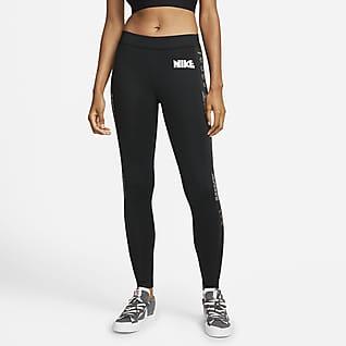 Nike x sacai Leggings mit mittelhohem Bund