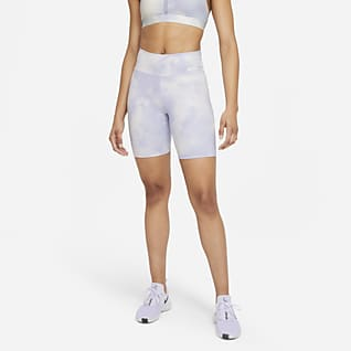 Nike One Icon Clash Shorts estampados de 18 cm para mujer