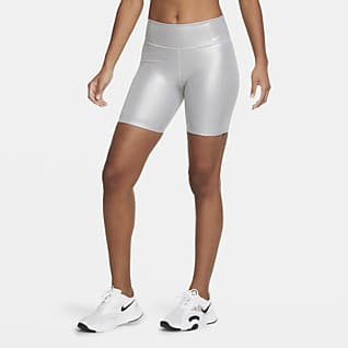 Nike One Icon Clash Bikeshorts voor dames (18 cm)