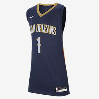 Pelicans Icon Edition Maglia Swingman Nike NBA - Ragazzi