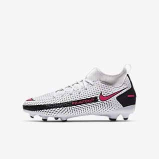 Nike Jr. Phantom GT Academy Dynamic Fit MG Ποδοσφαιρικό παπούτσι για διαφορετικές επιφάνειες για μικρά/μεγάλα παιδιά