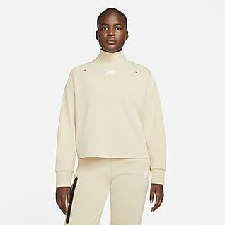 Nike Sportswear Tech Fleece Damen-Rollkragenoberteil