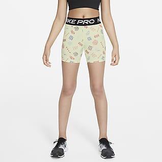 Nike Pro Dri-FIT Big Kids' (Girls') Boyshorts