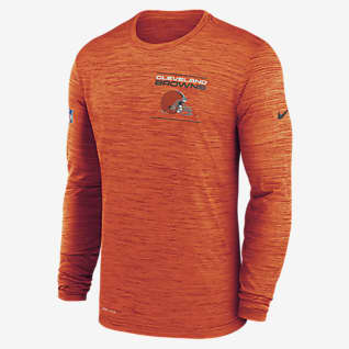 Nike Dri-FIT Sideline Velocity Legend (NFL Cleveland Browns) Men's Long-Sleeve T-Shirt