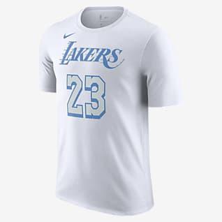 洛杉矶湖人队 City Edition Nike NBA 男子T恤