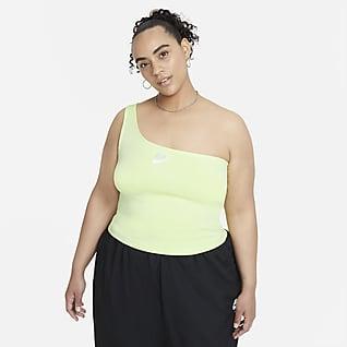 Nike Air Camiseta de tirantes asimétrica para mujer