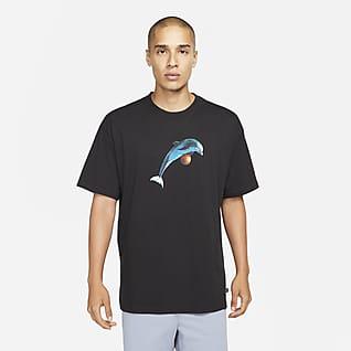 Nike SB เสื้อยืดสเก็ตบอร์ด