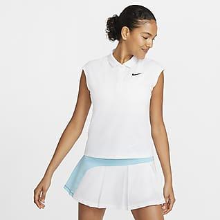 NikeCourt Victory 女款網球有領衫