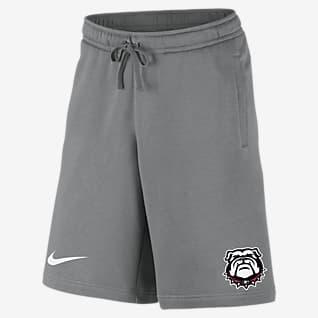 Nike College (Georgia) Men's Fleece Shorts
