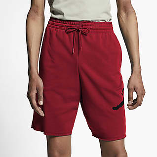 Jordan Jumpman Logo Shorts in fleece - Uomo