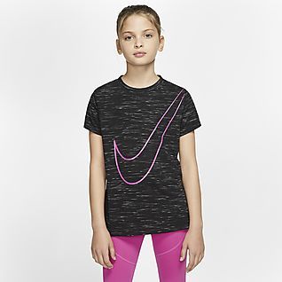 Nike Dri-FIT Victory Big Kids' (Girls') Training T-Shirt